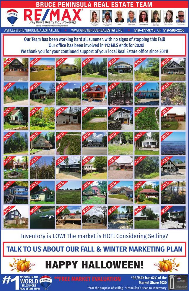 The Bruce Peninsula Real Estate Team